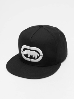 Ecko Unltd. Snapback Caps Base musta