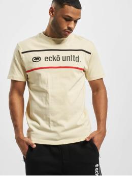 Ecko Unltd. T-Shirt Boort blanc