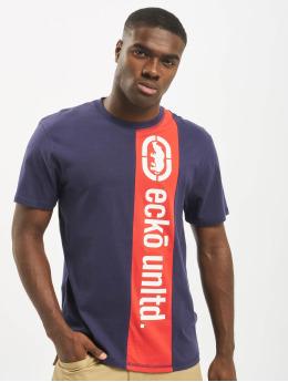 Ecko Unltd. T-Shirt Ruby blau