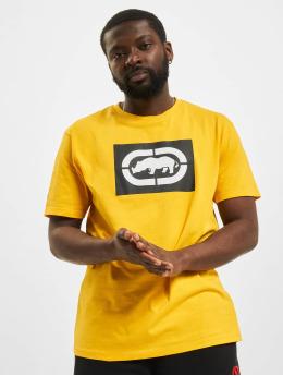 Ecko Unltd. t-shirt Base geel