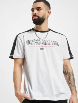 Ecko Unltd. T-Shirt De Long weiß