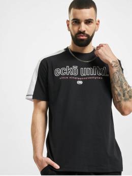 Ecko Unltd. T-Shirty De Long czarny