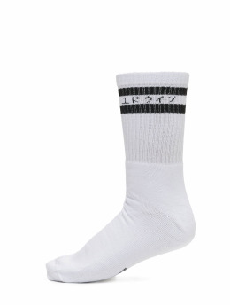 Edwin Socken Edwin X Democratique Tube weiß