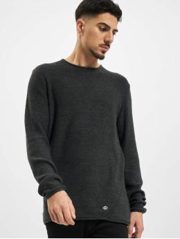 Eight2Nine Пуловер Lino серый