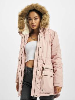 Eight2Nine Kabáty Amelia ružová