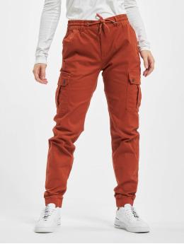 Eight2Nine Pantalon cargo Anna rouge