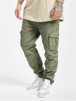 Eight2Nine Pantalon cargo Vintage  vert