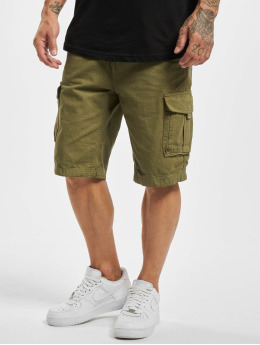 Eight2Nine shorts Bermuda  olijfgroen