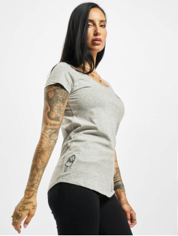Eight2Nine T-Shirt Lazy  grey