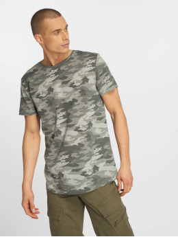 Eight2Nine t-shirt Camo grijs