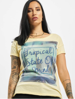 Eight2Nine T-Shirt Tropical jaune