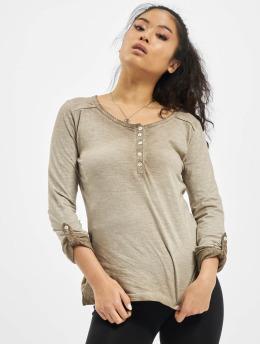 Eight2Nine T-Shirt manches longues Luana beige