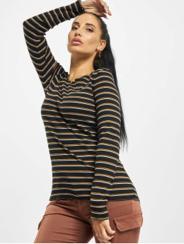 Eight2Nine T-Shirt manches longues Double Stripe noir