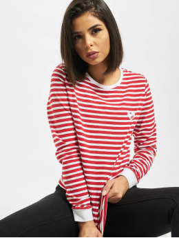 Eight2Nine T-Shirt manches longues O-Neck rouge