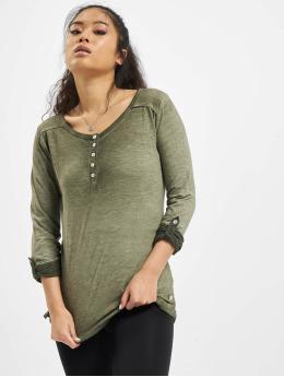 Eight2Nine T-Shirt manches longues Luana vert