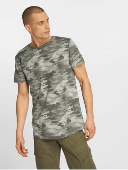 Eight2Nine T-shirts Camo grå