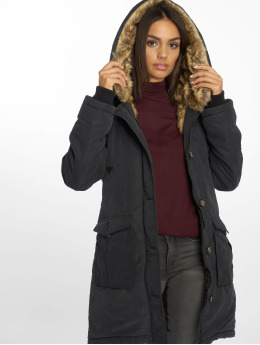 Eight2Nine Winterjacke Velenora schwarz