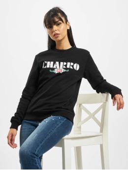El Charro Pullover AAngel  schwarz