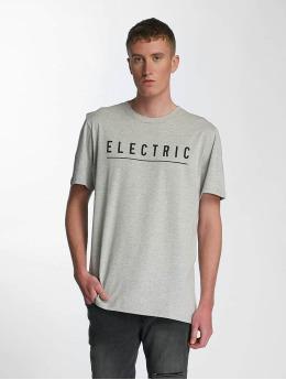 Electric Tričká Script šedá