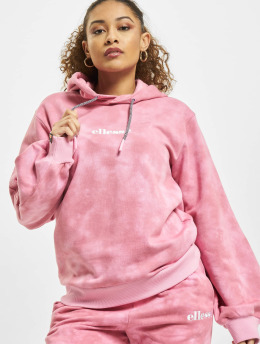 Ellesse Bluzy z kapturem Fluo  pink