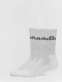 Ellesse Chaussettes Arrom Sport 3 blanc