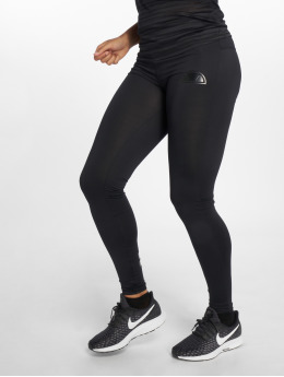 Ellesse Leggings/Treggings Schwarz szary