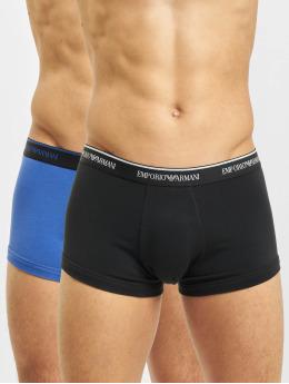 Emporio Armani Boxershorts 2 Pack Black/Blue schwarz