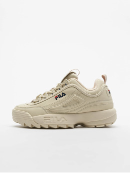 FILA Сникеры Heritage Disruptor Low бежевый