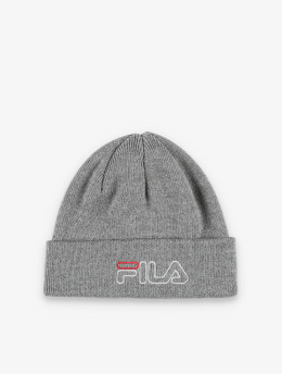 FILA Active Beanie Urban Power Outline Logo grau