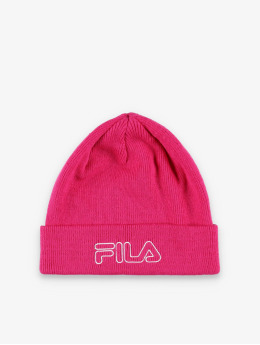 FILA Active Beanie Urban Power Outline Logo pink