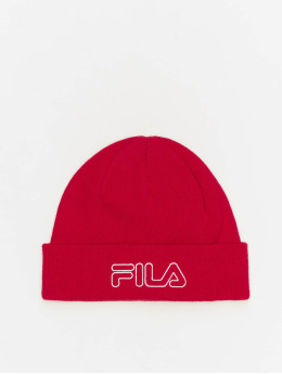 FILA Active Beanie Active Urban Power Outline Logo rot