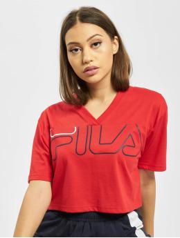 FILA Active T-Shirty Active UPL Leda Wide czerwony