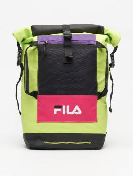 FILA Backpack Urban Line Frosted Pu Rolltop  black
