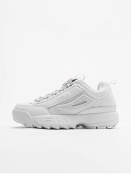 FILA Baskets Heritage Disruptor II Patches blanc