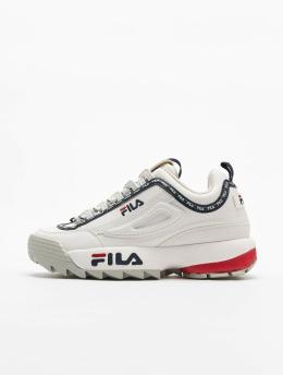FILA Baskets Heritage Disruptor Logo blanc