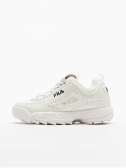 FILA Baskets Heritage Disruptor P Low blanc