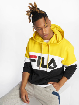 FILA Bluzy z kapturem Urban Line Night Blocked czarny