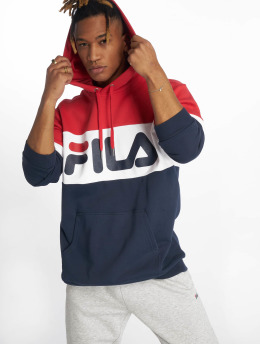 FILA Bluzy z kapturem Urban Line Night Blocked niebieski