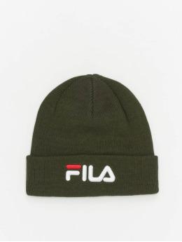 FILA Bonnet Bianco Linear Logo vert