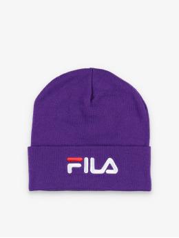 FILA Czapki Urban Line Slouchy Leniar Logo fioletowy