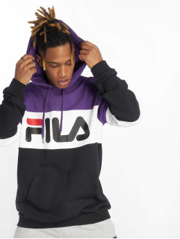FILA Hoodie Urban Line Night Blocked svart