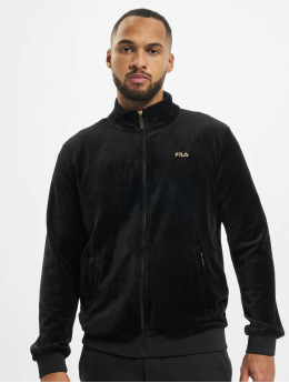 FILA Lightweight Jacket Bianco Bob Velvet black
