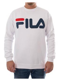 FILA Pullover Logo weiß