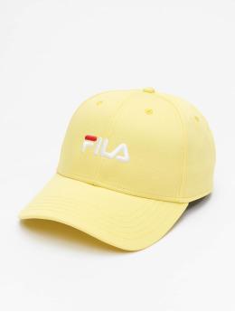 FILA Snapback Cap Logo  gelb