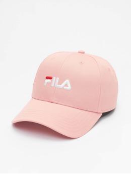 FILA Snapback Cap Logo rosa