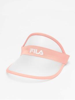 FILA Snapback Cap Plastic Visor  rose