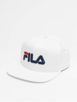 FILA Snapback Caps Urban Line Classic Basic bílý