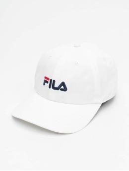 FILA Snapback Caps Urban Line 6 Panel bialy