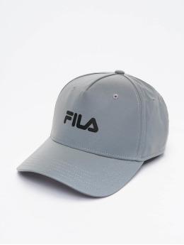 FILA Snapback Caps Bianco Reflective Linear Logo szary