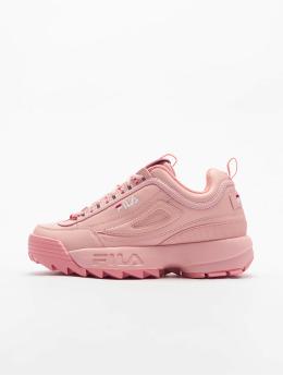 FILA Sneaker Bianco Disruptor Low rosa chiaro